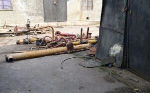 Демонтаж стальных трубопроводов